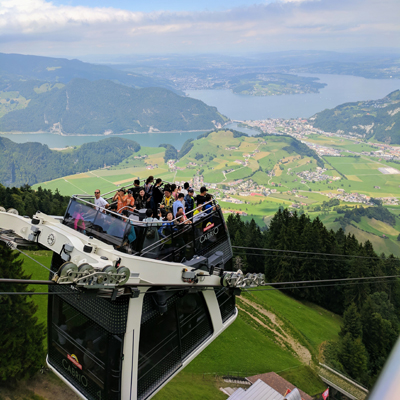 Stans - Stanserhorn - Cabrio Cable Car