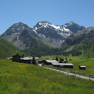 Davos - Sertig village