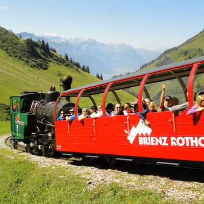 Brienzer Rothorn - Steam train