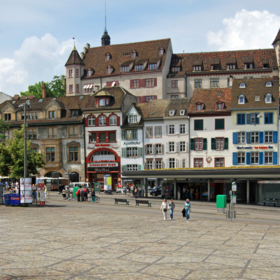 Basel - Barfusser place
