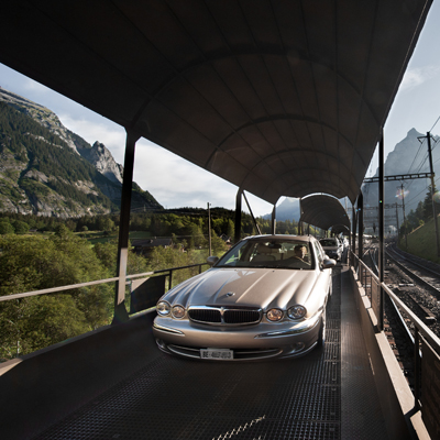 Lotschberg BLS - Car Shuttle train
