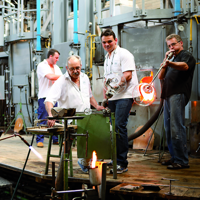 Hergiswil - Glass factory