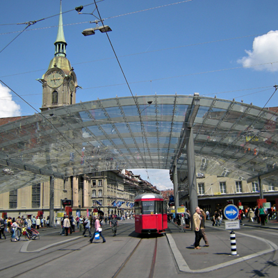 Berne - Main Station Place