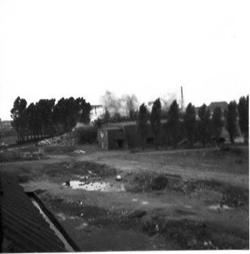 Bunker neben dem Sportplatz