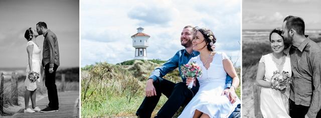 Hochzeitsfotos Langeoog