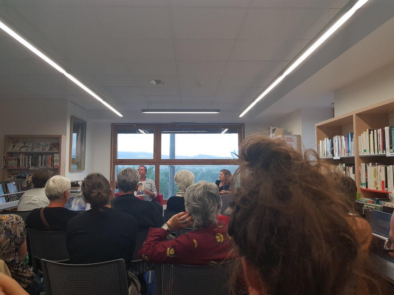 """Conférence de William Gourdin et exposition """"Retour d'Horizon"""", à la médiathèque de Fabas"""