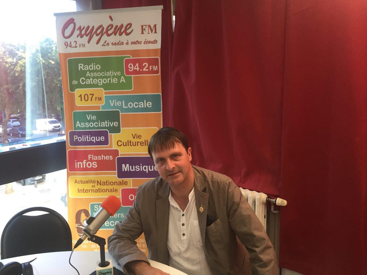 Interview pour Oxygène FM