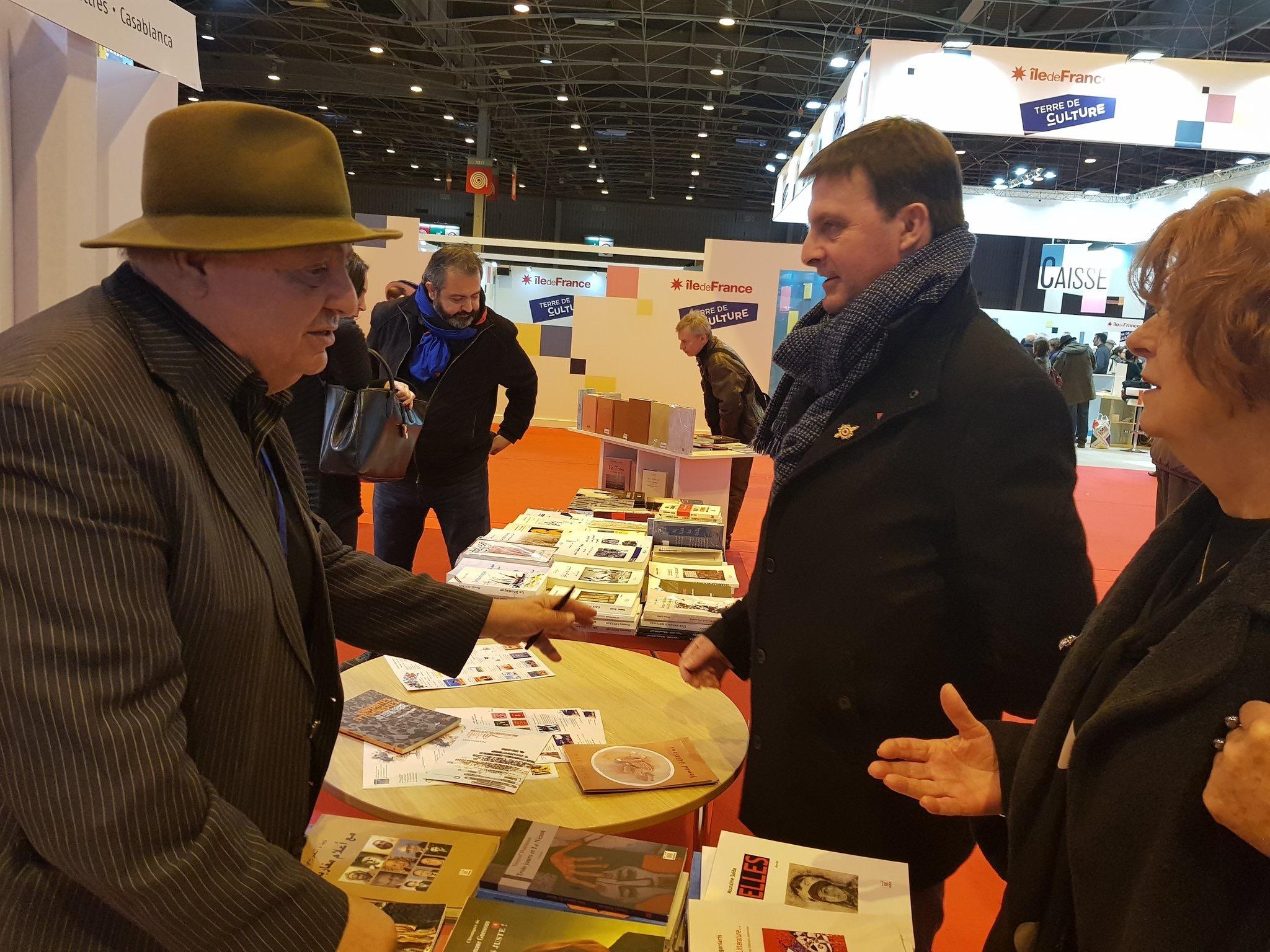 Nous terminons notre visite du Salon du livre 2018 par les éditeurs du Maroc. Merci à eux pour leur accueil chaleureux.