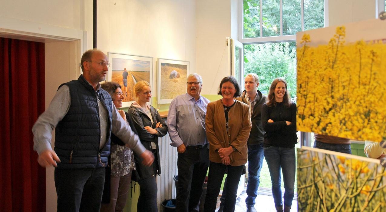 Vernissage mit Rede von Nils Piening
