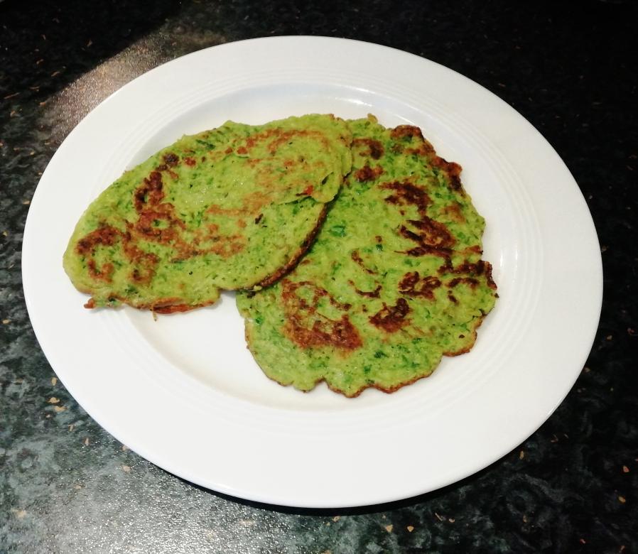 Bärlauchpfannkuchen, schnell und einfach gemacht