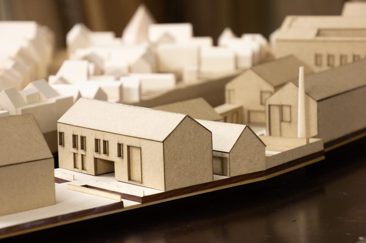 Detailmodell des Entwurfs
