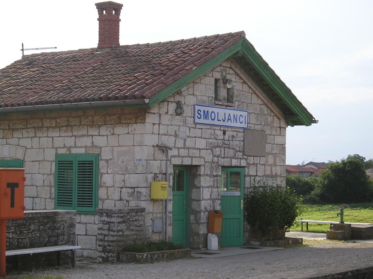 Bahnhof Smoljanci