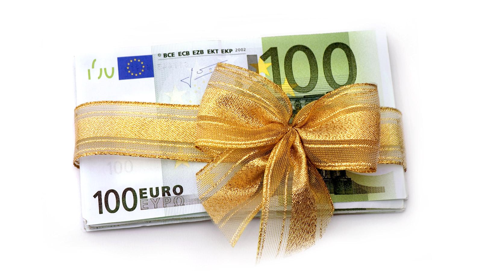 Goldschein - die Geschenkidee für Unternehmer