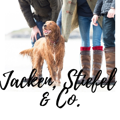 Jacken Stiefel und mehr für Hundebesitzer