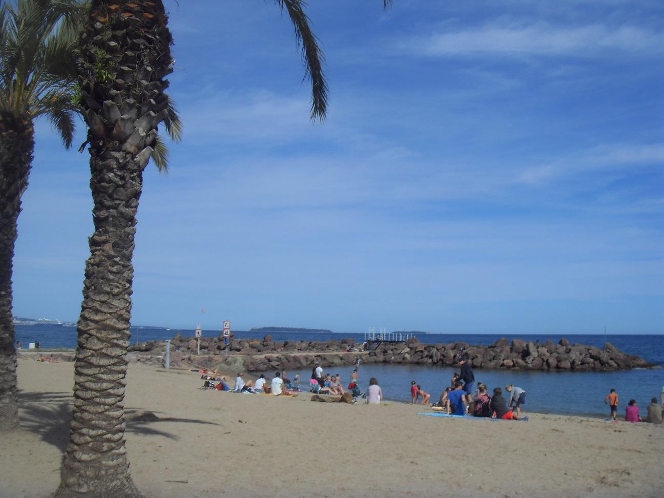 14-Mais bon, content de retrouver la plage et donc l'arrivée