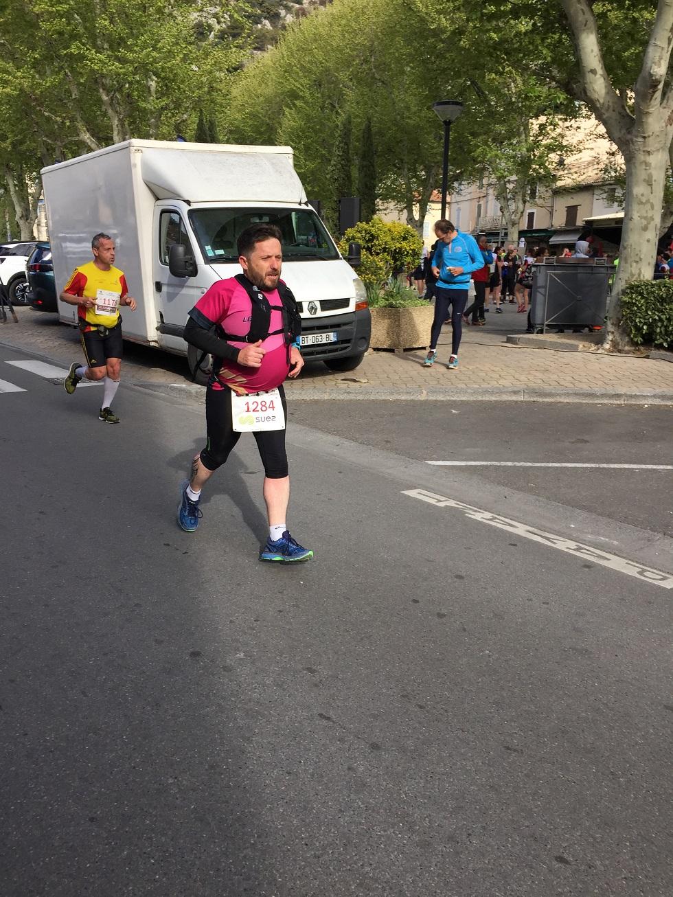 18-Derniers hectomètres pour Cédric, après 1h de course..