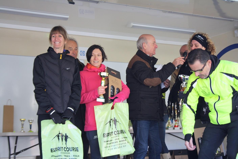 52-Et podium surprise aussi (3ème M1F) pour Laëtitia
