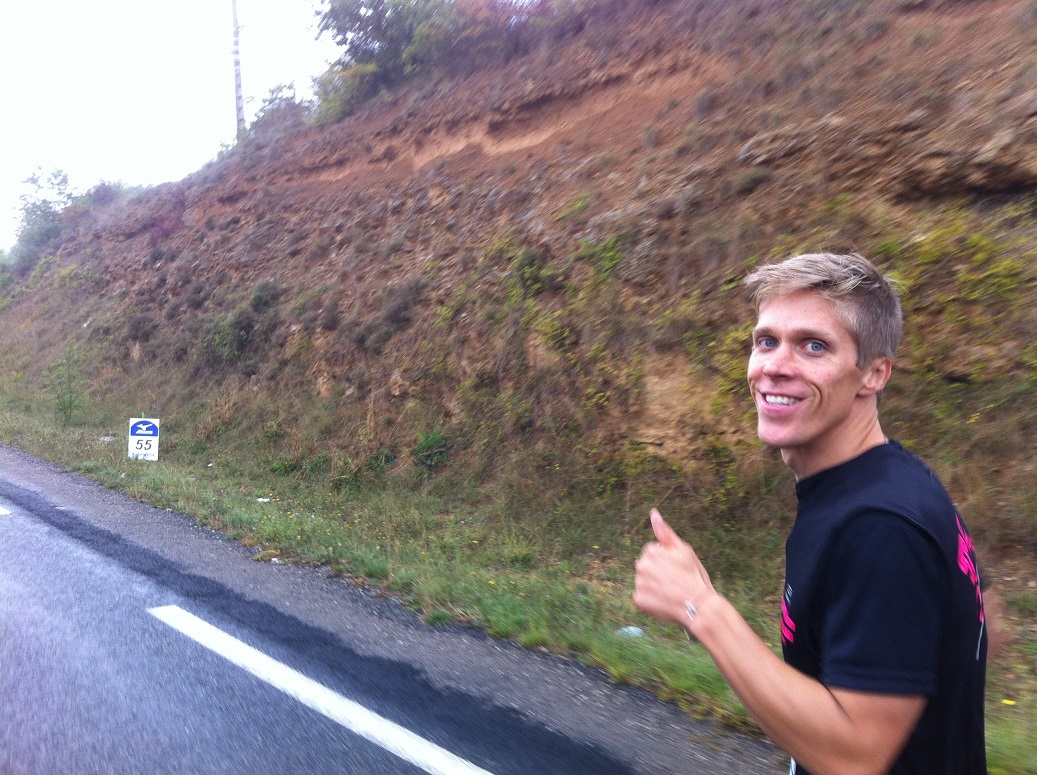 30-On garde le sourire, passage au km55