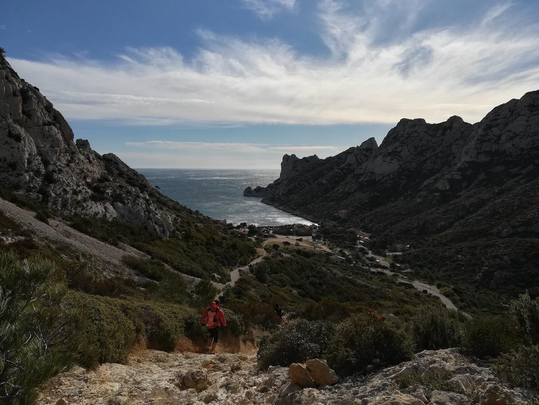 15-Belle descente jusqu'à la Calanque de Sormiou