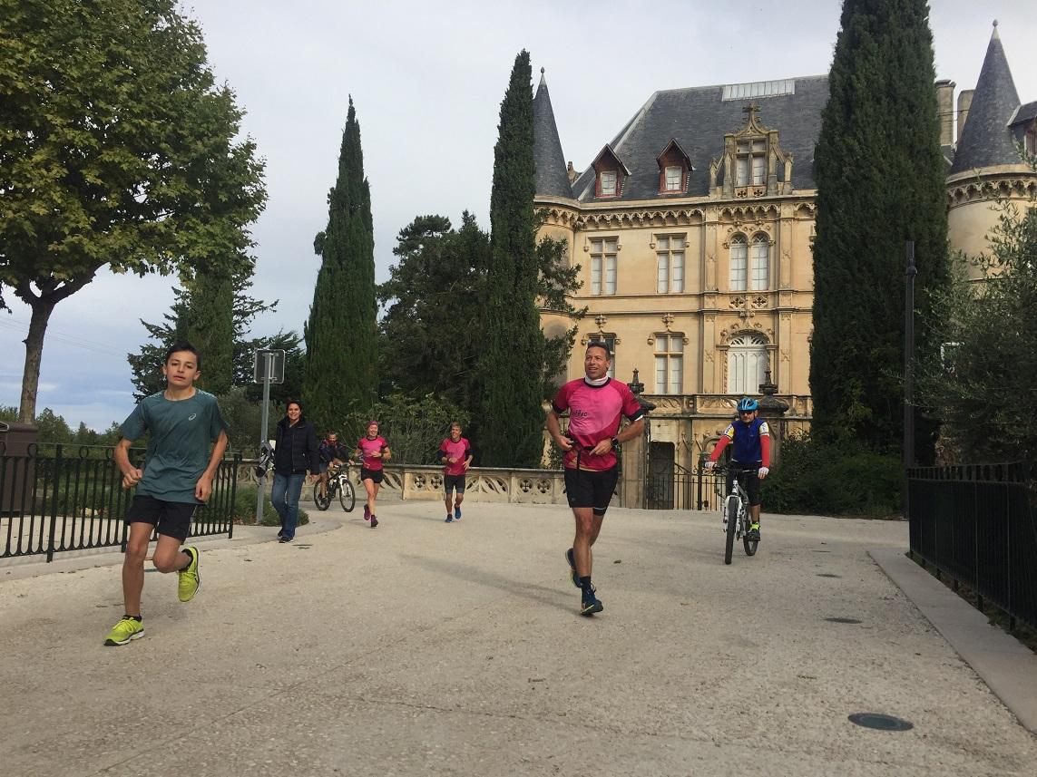 17-Passage par le château, où Sabine & Raff', mais aussi Coach Sergio & Stef les attendent