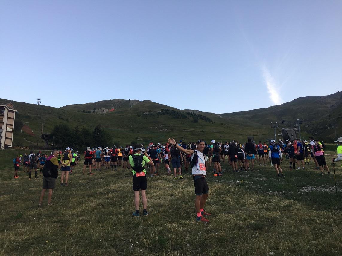 8-Le départ du 40kms à 6h45 du mat'