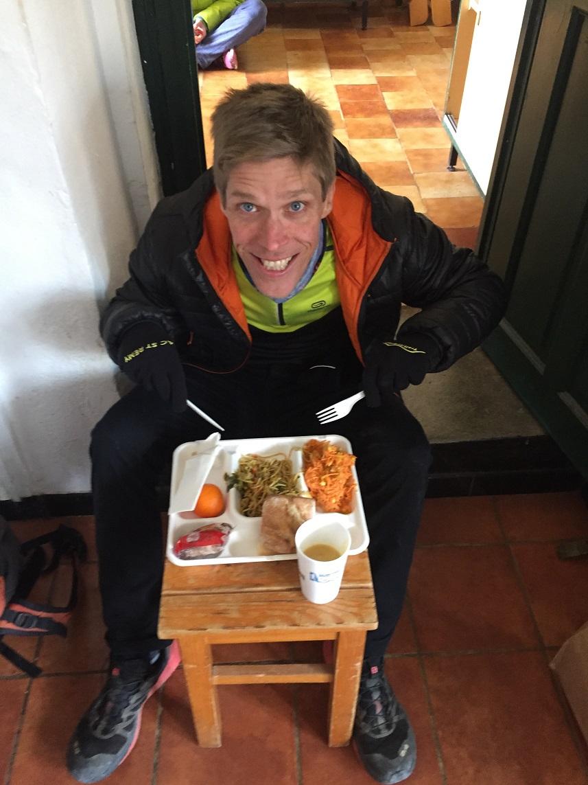 20-Petit plateau repas d'après-course pour se requinquer