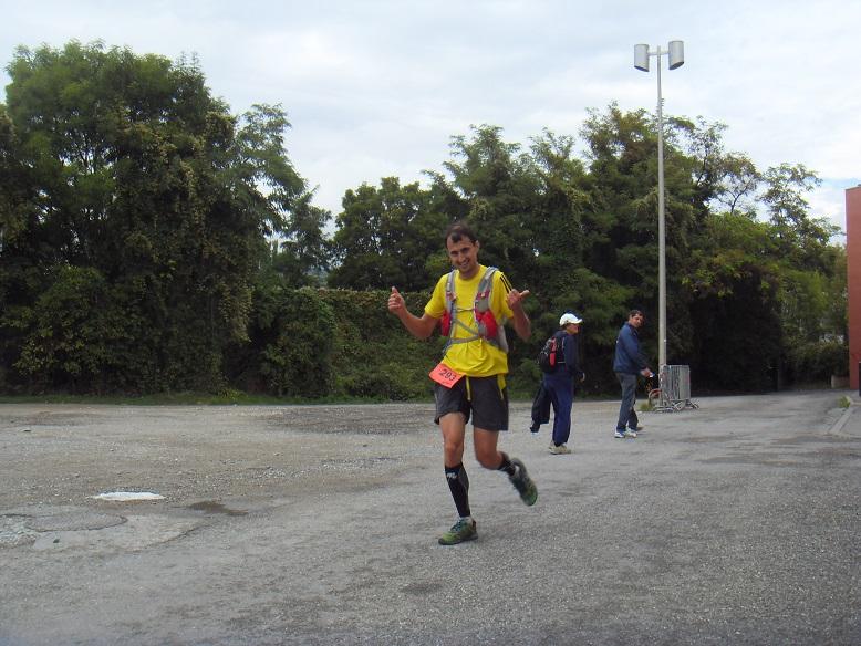 31-Un peu avant 15h, Jean-François  est à 1km de l'arrivée