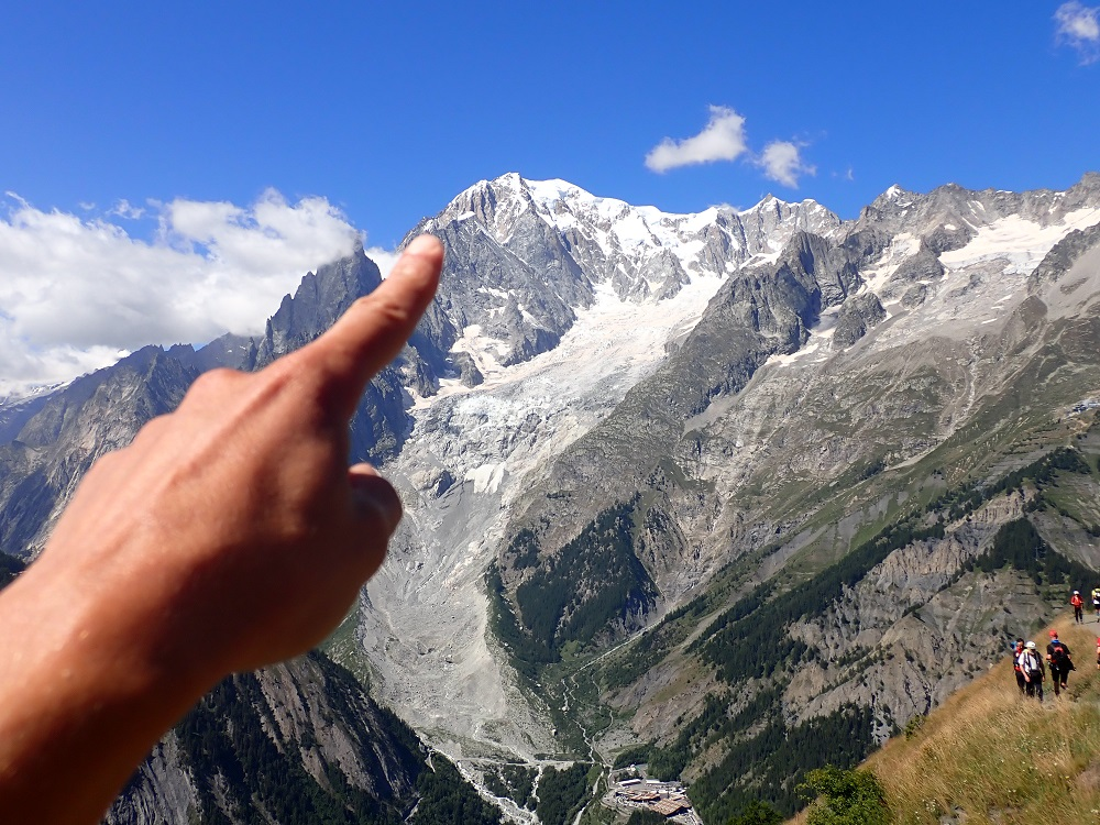 40-Si, si: il Monte Bianco