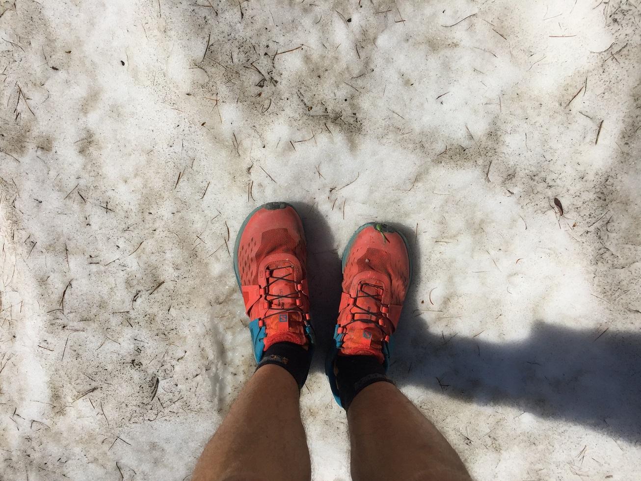25-Les pieds dans la neige..