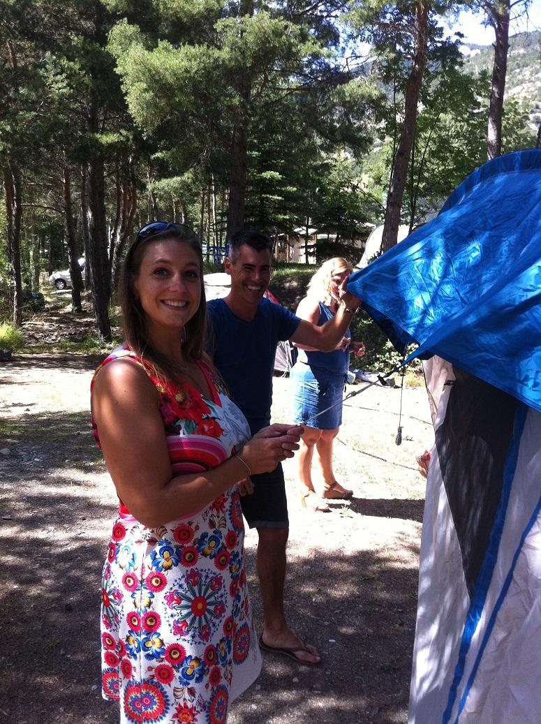 4-Montage des tentes