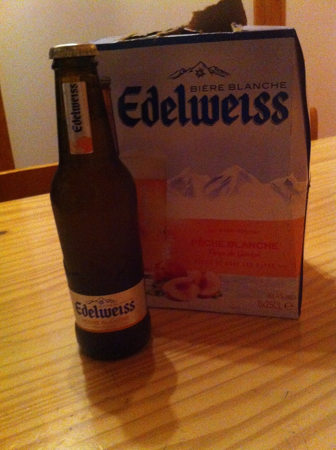 3-L'Edelweiss (la bière) avant l'Edelweiss (le trail de 55km)..