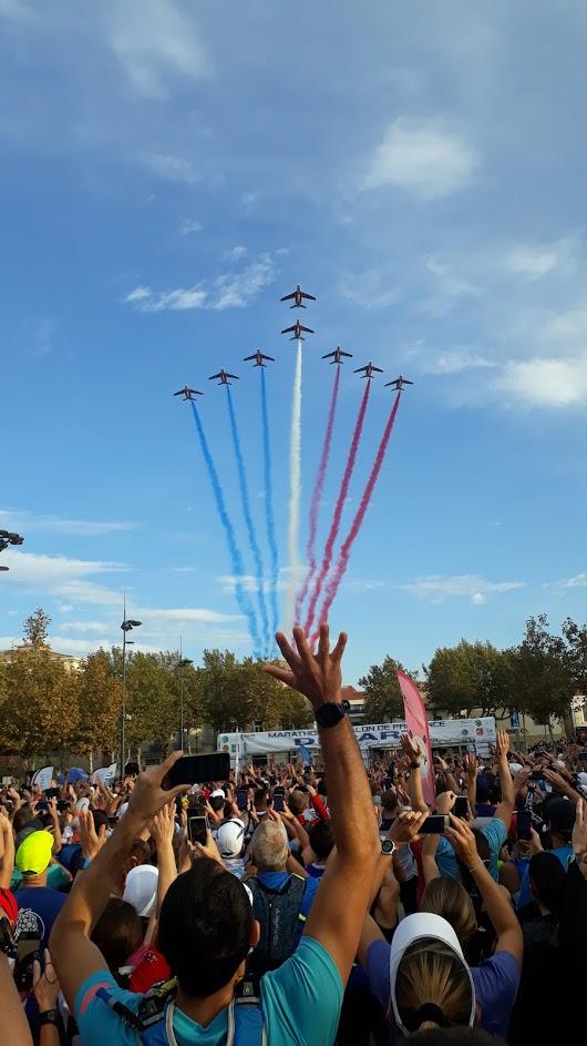 2-La patrouille de France avant le top départ