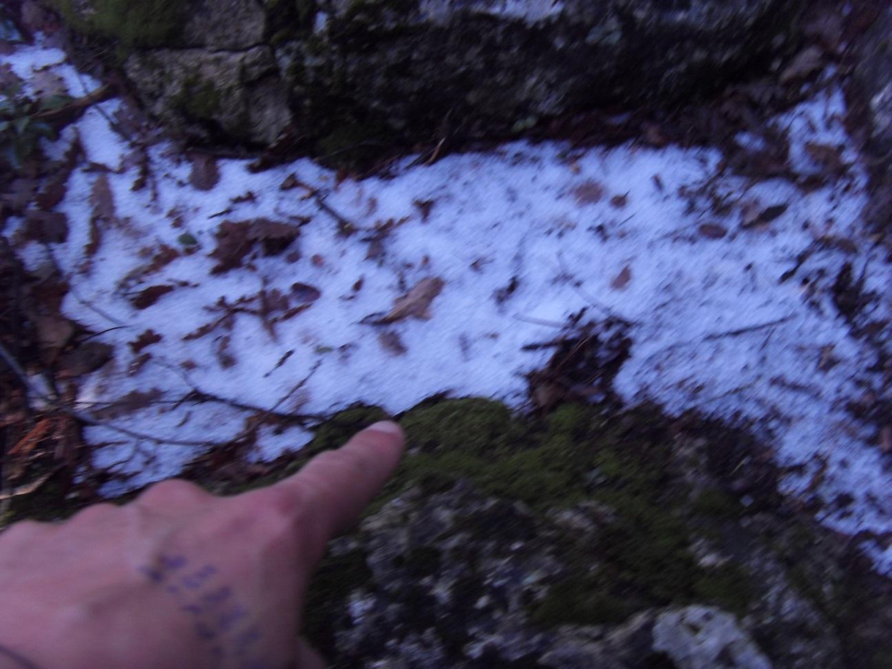 17-A noter la boue, mais aussi la grêle sur le parcours..