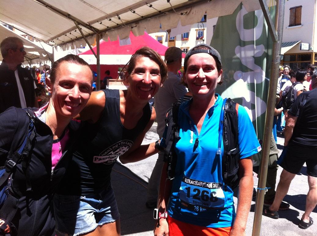 35-Photo féminine d'après-course, en attendant LaBlondasse..