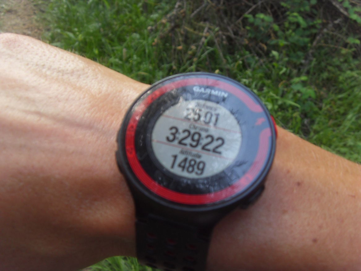 29- 25kms / 3h29 de course
