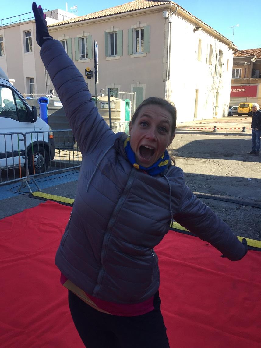 39-WAHOU, Fred' apprend qu'elle a fait podium!