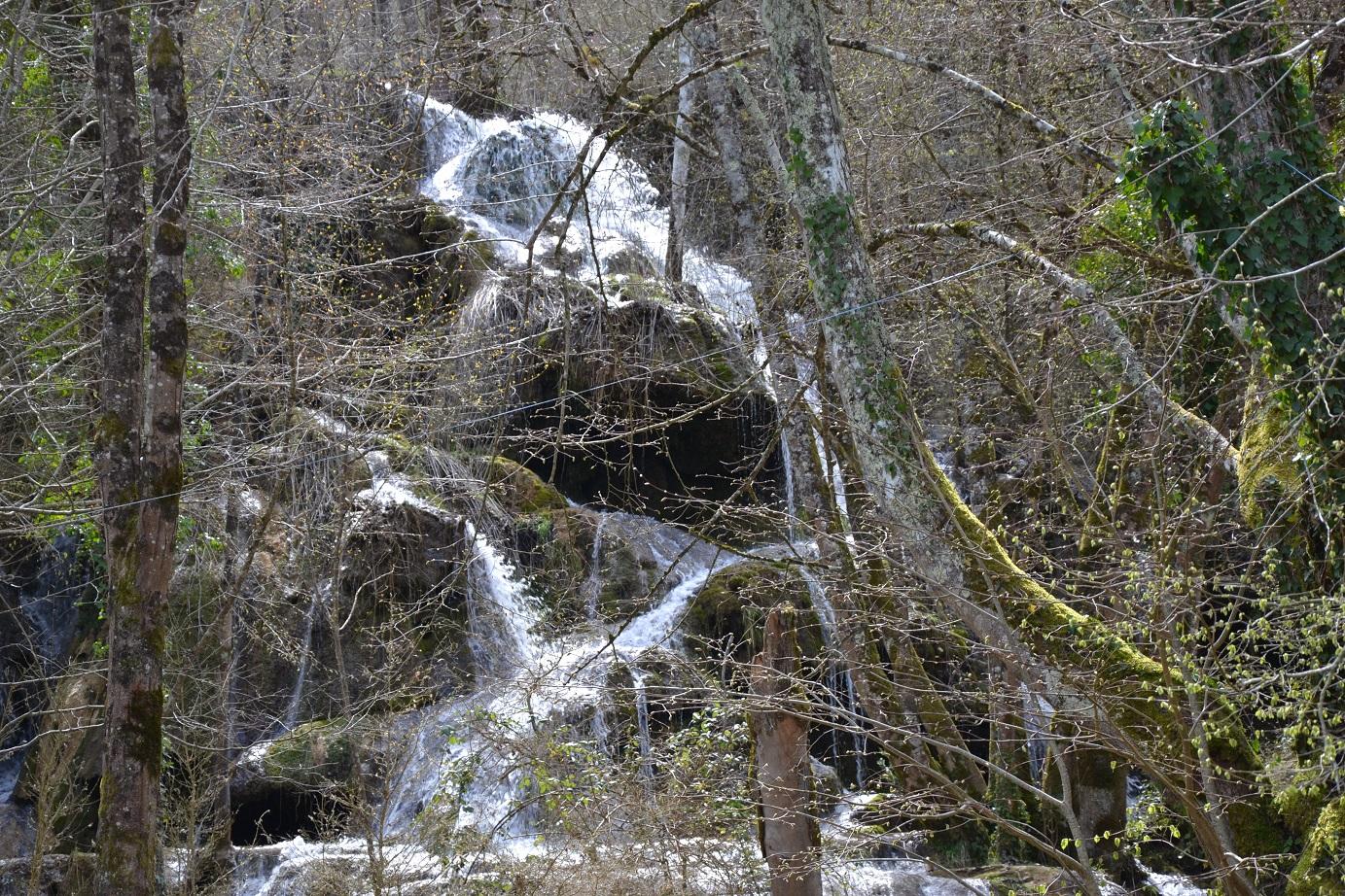 63-Le dernier gros ravito est à Roquefort-les-Cascades