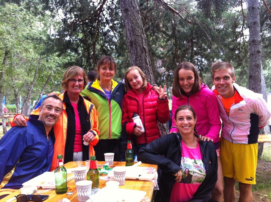 39-Photo de groupe lors du repas d'après-course