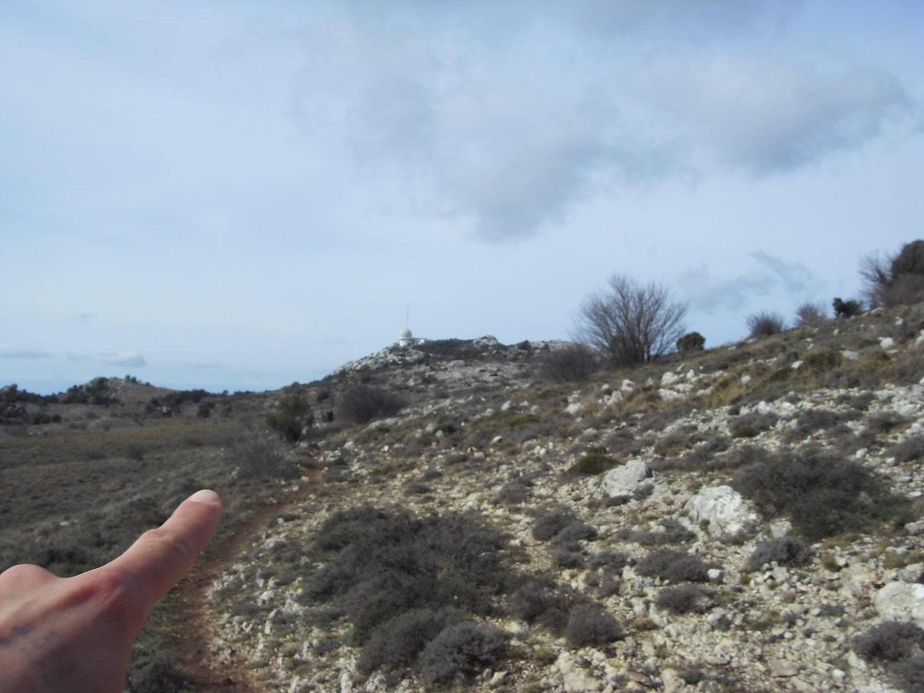 23-Aaah, voici le Pic de Bertagne, point culminant du département