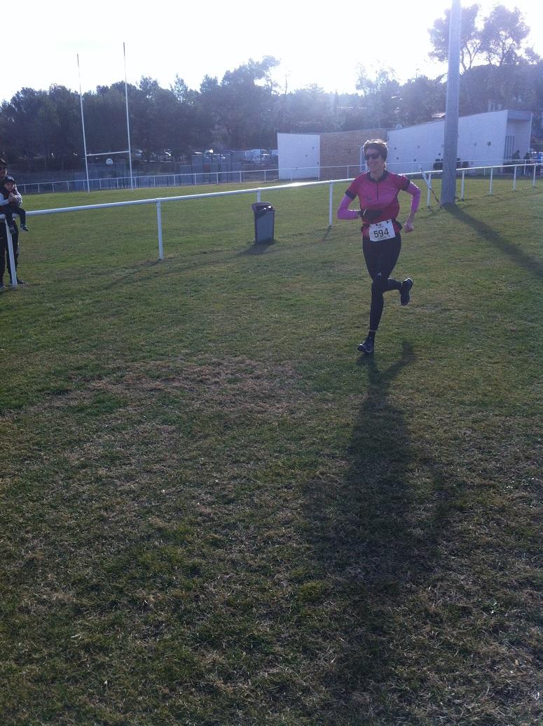 14-L'arrivé de Laëtitia, 3ème féminine!