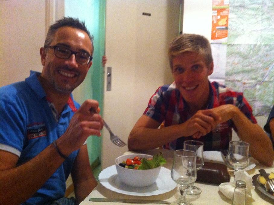 3-Seb' et Steph' au repas du soir