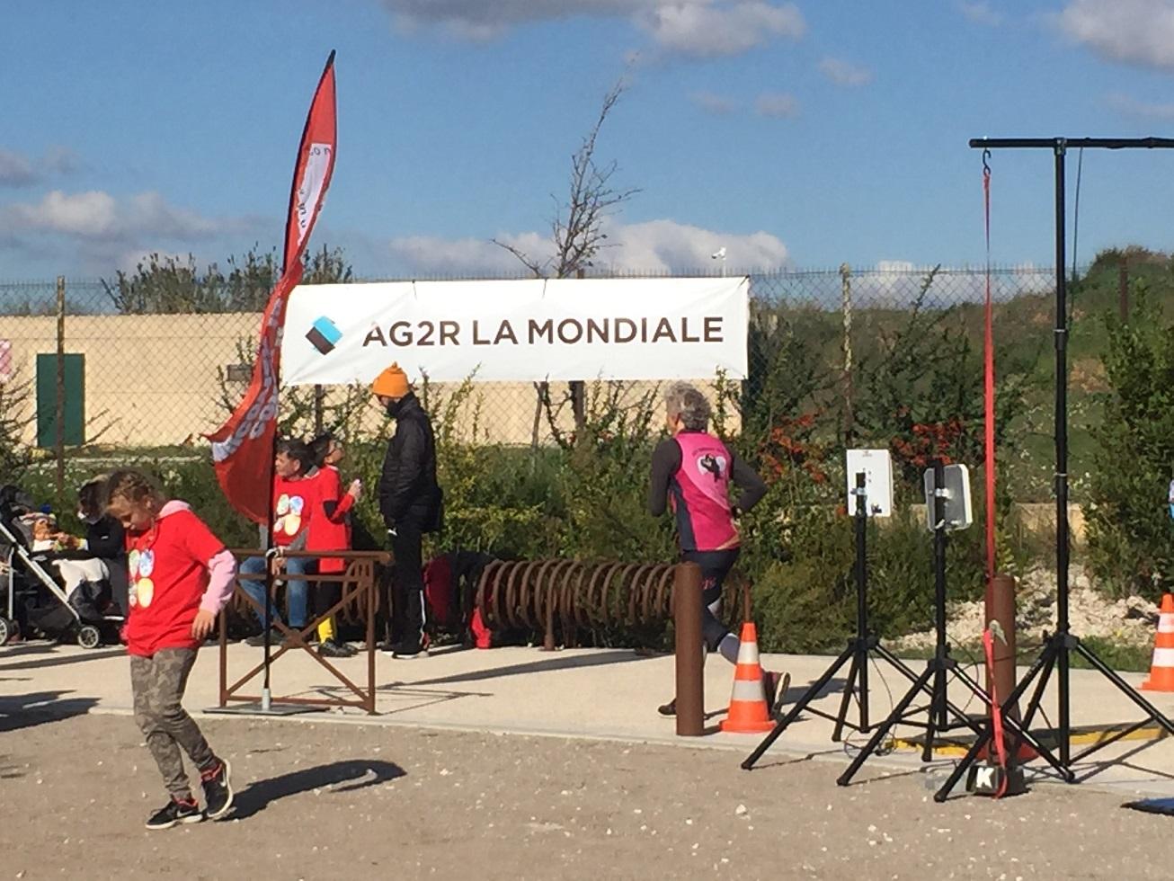 14- 2h18 de course: 15kms pour Geneviève