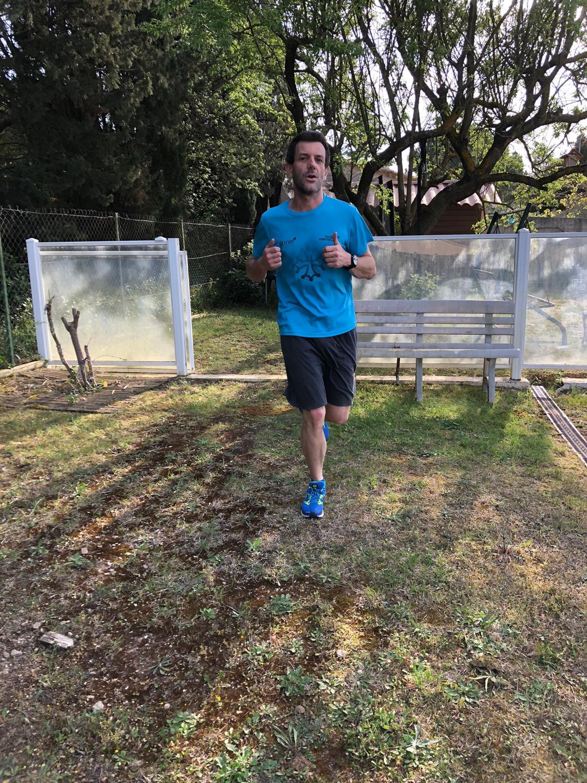 34-Fred' nous rejoint avec du running