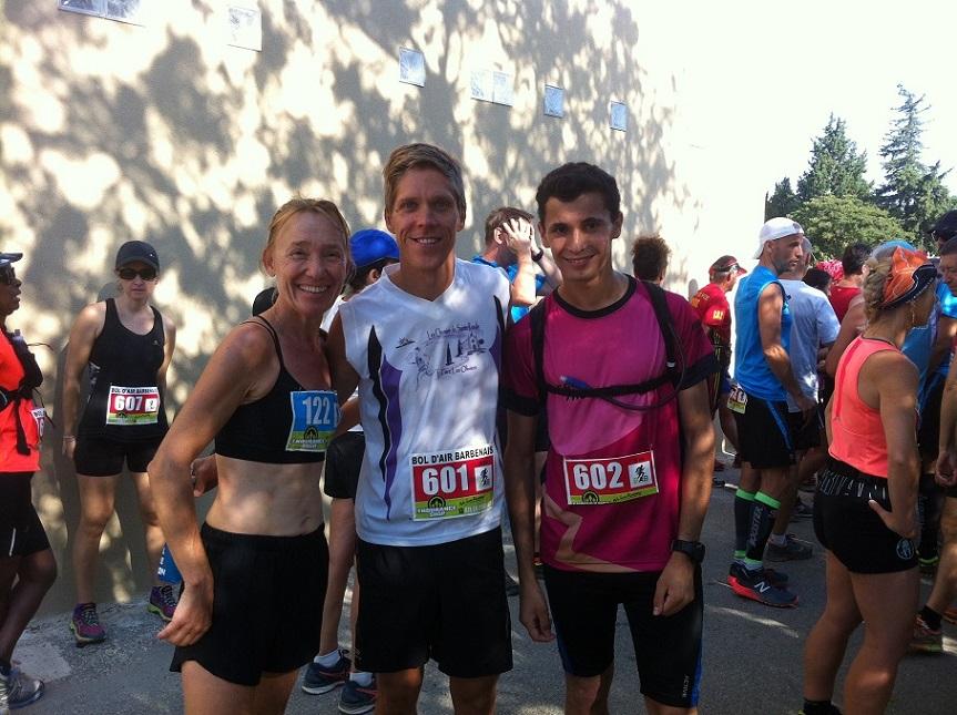 3-Agnès, Camille et Steph' encore frais avant la course