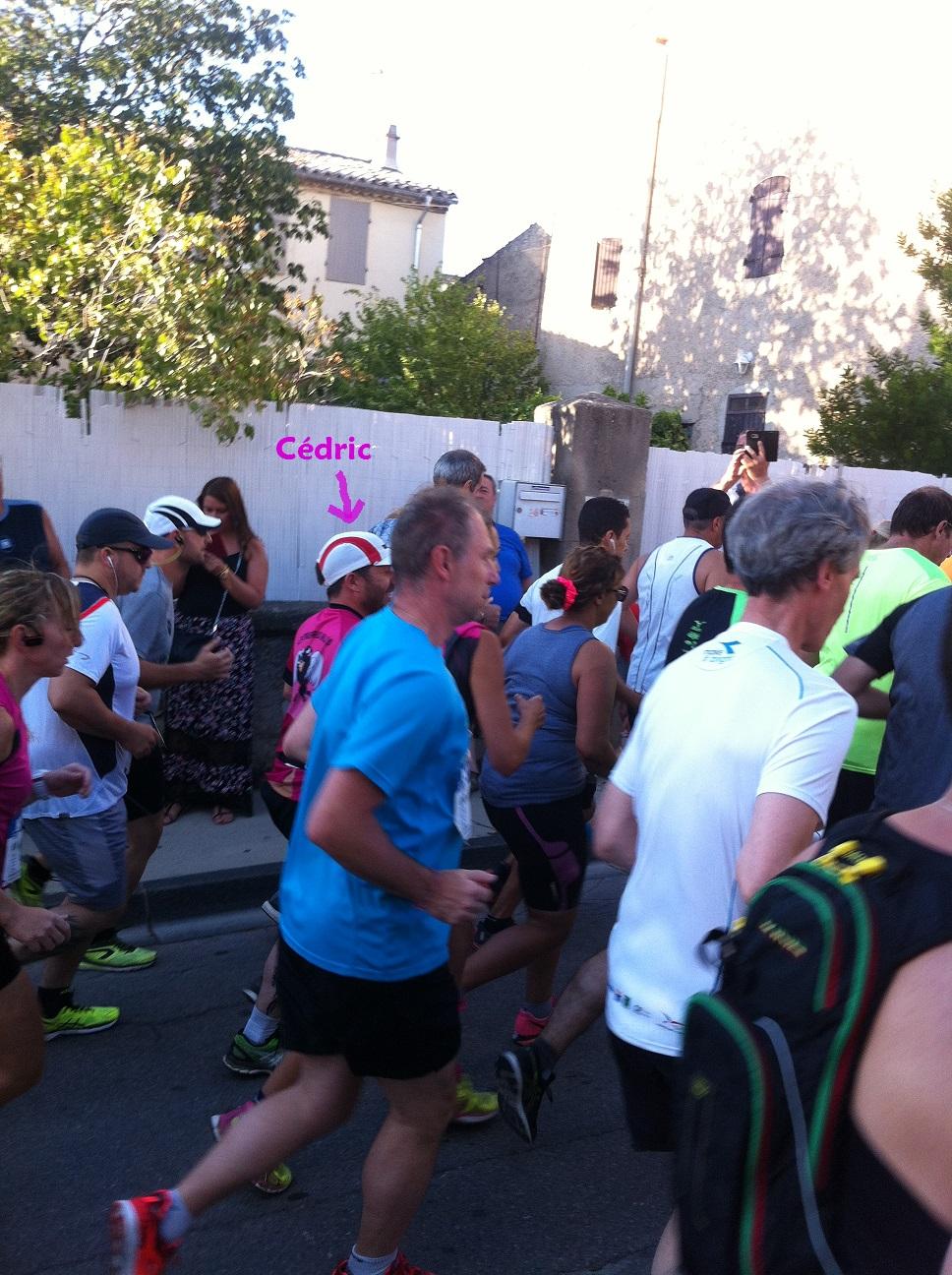 5-'Marathon man' Cédric aussi..
