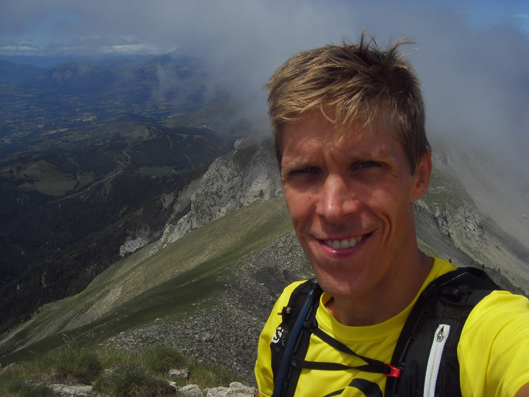 33-Stef' passe au sommet du Piolit..
