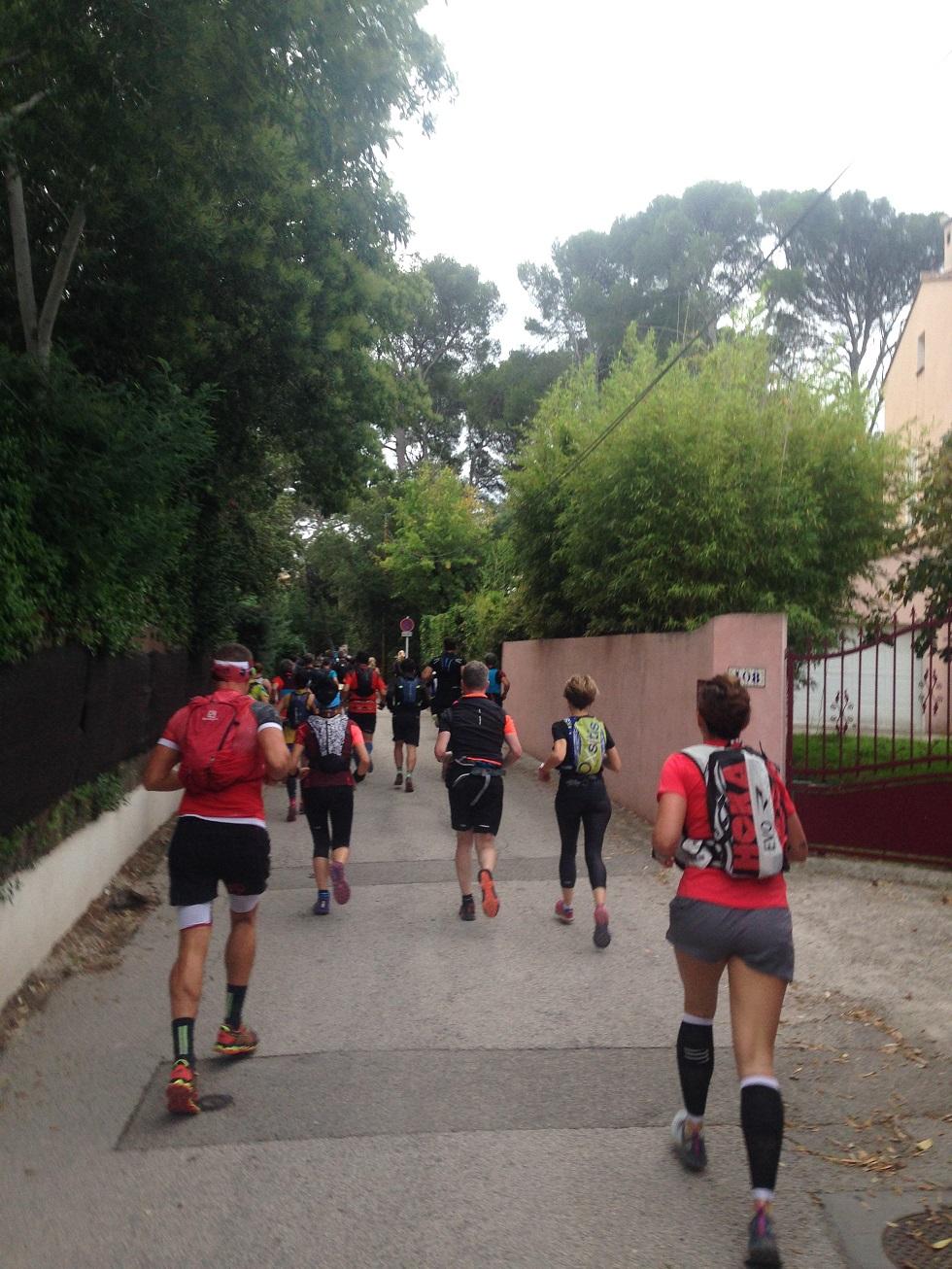 11-Go go go, 1er km