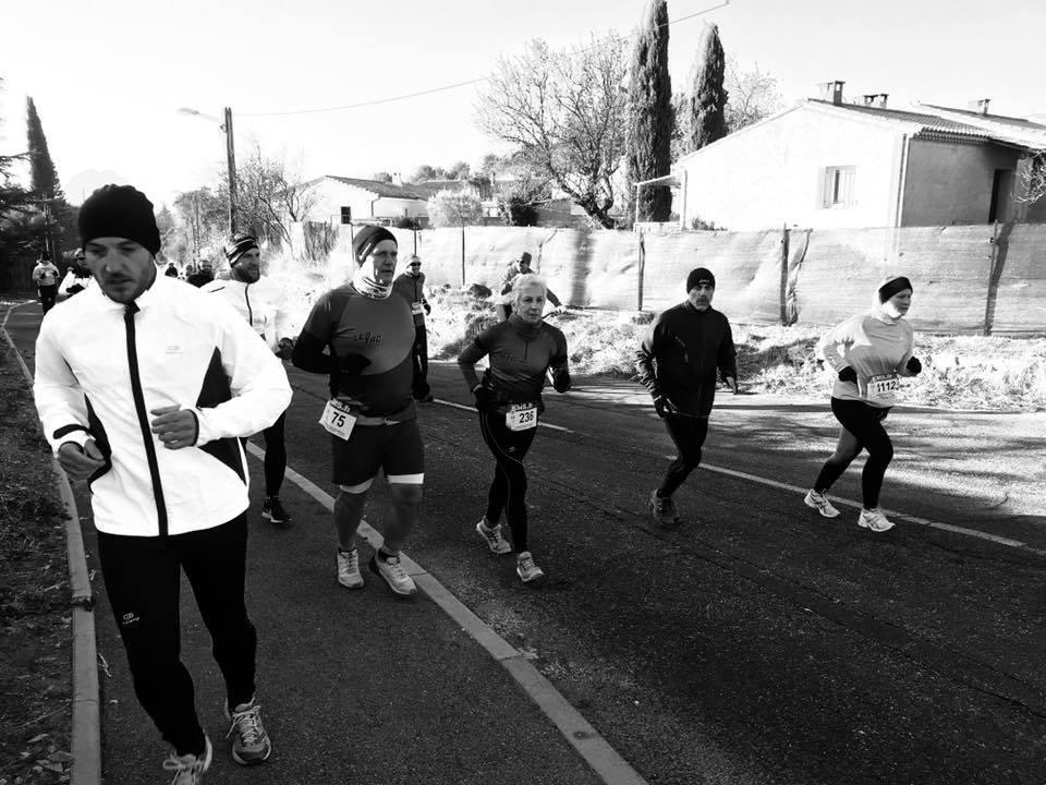 18-On retrouve Geneviève & Eric après 1km de course