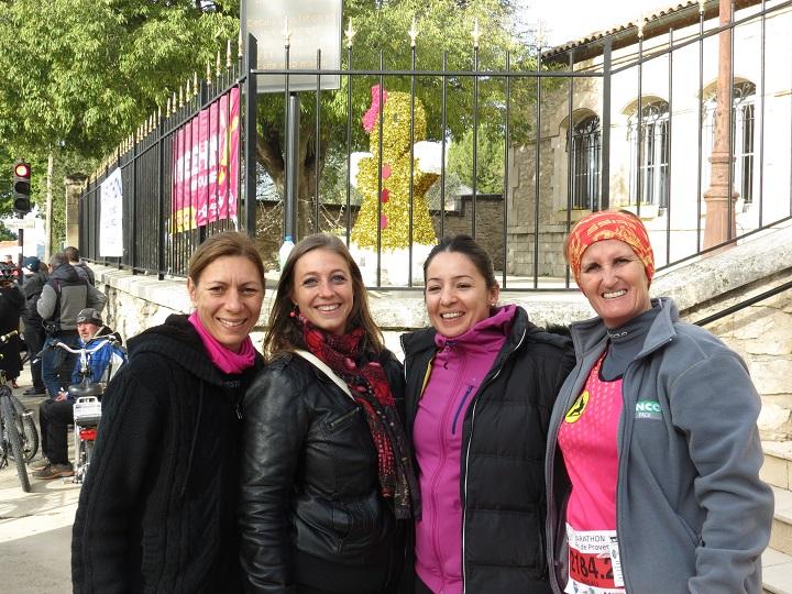11-Les filles, au 21km, attendent leur tour pour se lancer