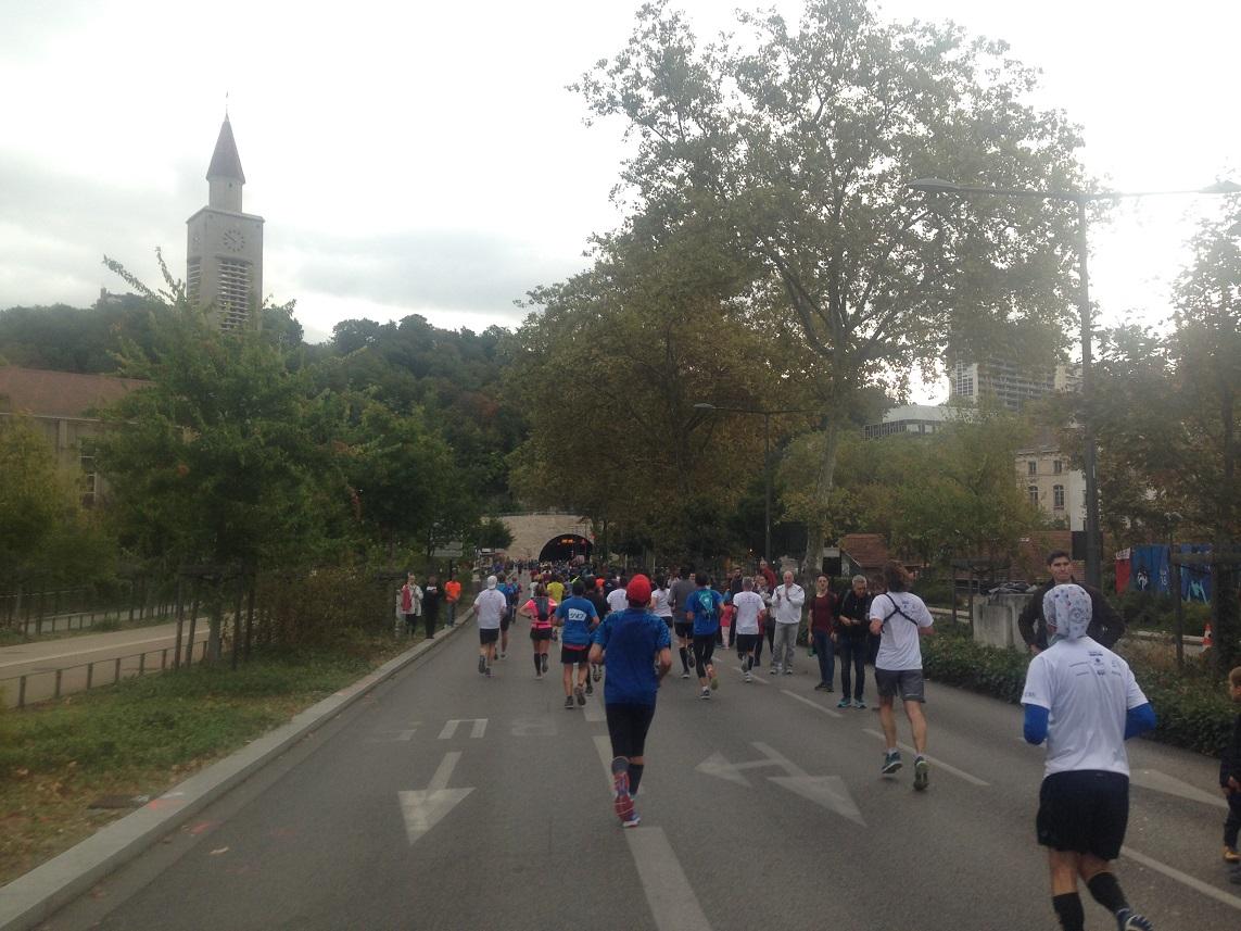 20- 14kms (après une pause pipi)